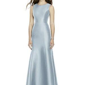Dessy BB106 Bridesmaid Dress Mist Sateen Twill